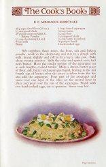 Asparagus shortcake.