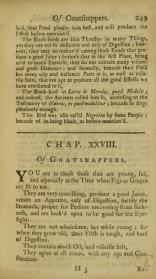 A treatise of all sorts of foods, both animal and vegetable, also of drinkables, about gnatsnappers