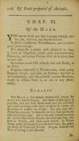 A treatise of all sorts of foods, both animal and vegetable, also of drinkables, about hares