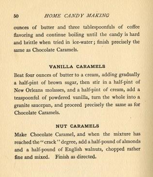 Caramels, pg. 50