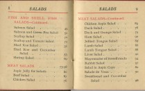 The Tiny Book on Salads, 1905