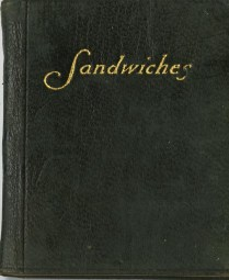 The Tiny Book on Sandwiches, 1905