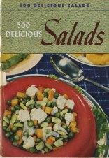 500 delicious salads, 1949