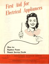 First Aid for Electrical Appliances, 1958