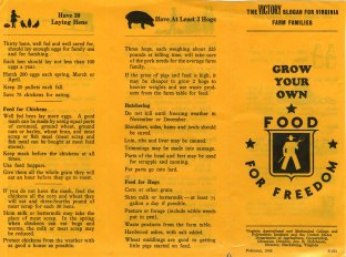 Grow Your Own Food for Freedom, 1942