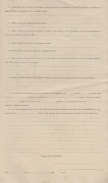 Bureau of Internal Revenue, Form 192, Report Showing Condition of Fruit Distillery, (Page 3)