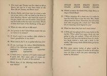 Mental Cocktails, 1933. Test #2 Page 2.
