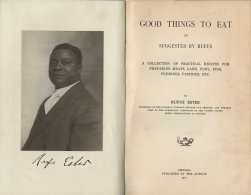 Good Things to Eat, 1911. Title page and photograph.