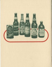 Carling: The Story of Brewing (from Ms2013-027, Cocktail Ephemera Collection)