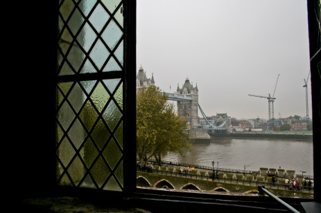 London Bridge Out Window of Tower of London