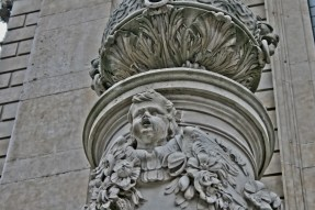 St Pauls London - Statue