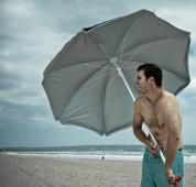 Nick Umbrella Beach