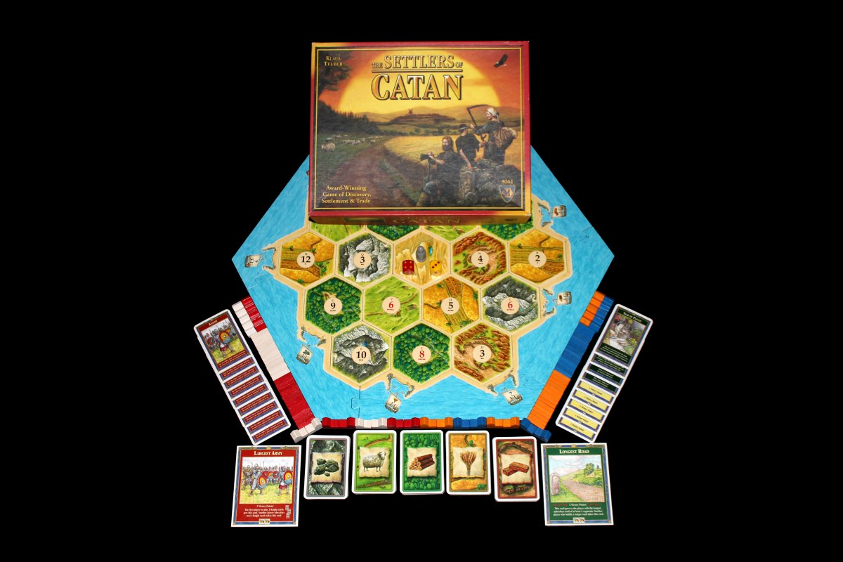 1 The Settlers Of Catan What S Eric Playing