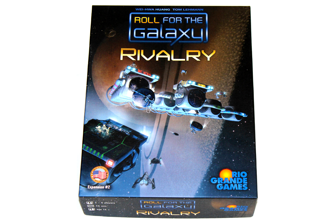 415 Roll For The Galaxy Rivalry Expansion What S