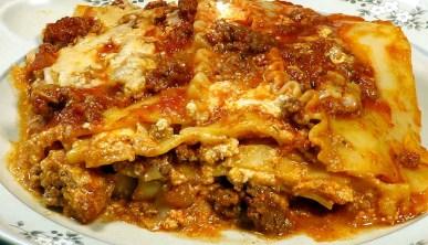 Home Lasagna