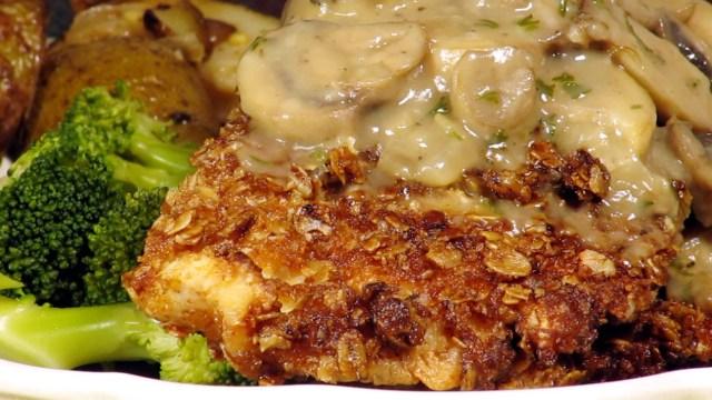 Granola Crusted Chicken