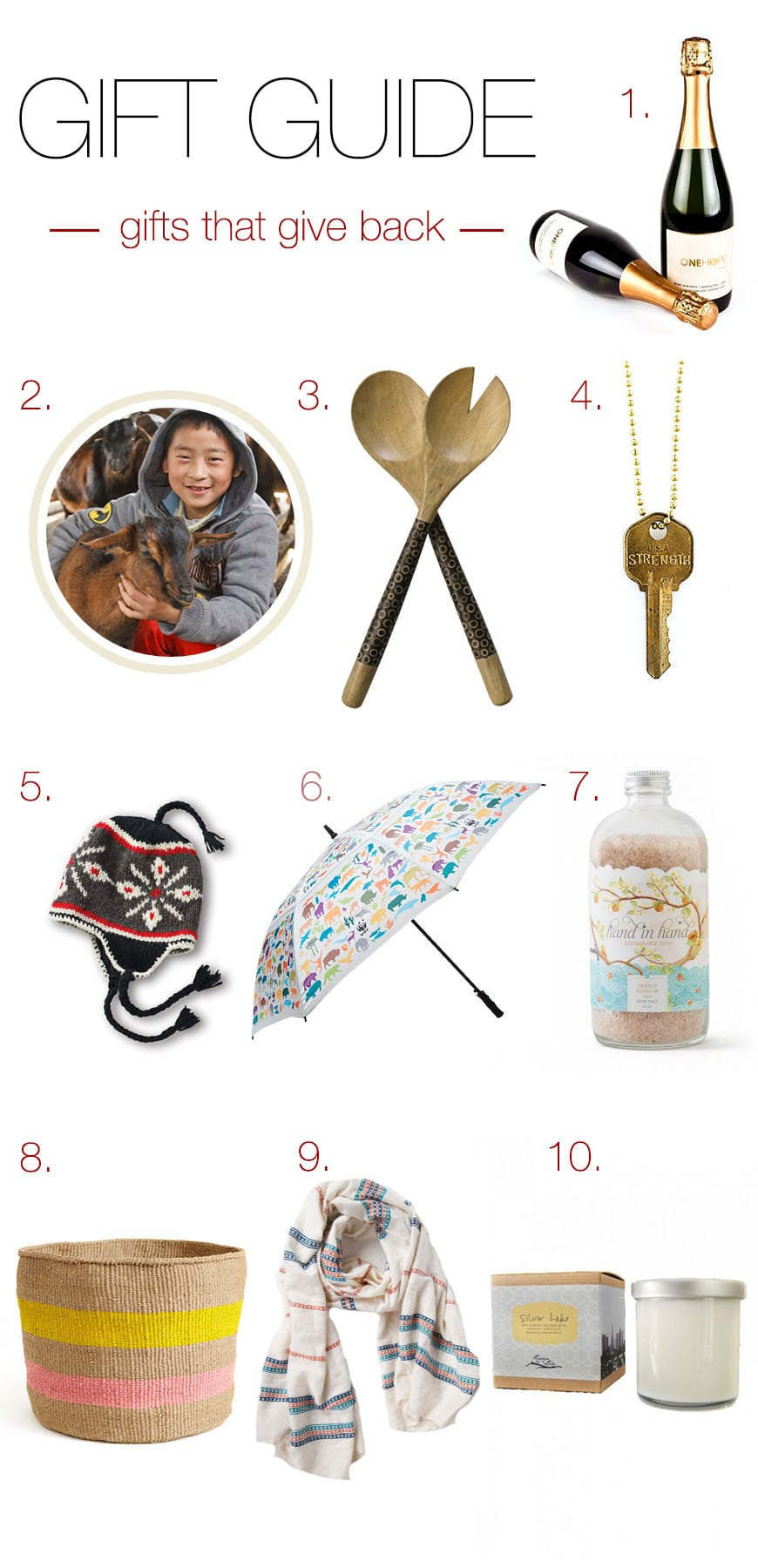 top 10 gifts that