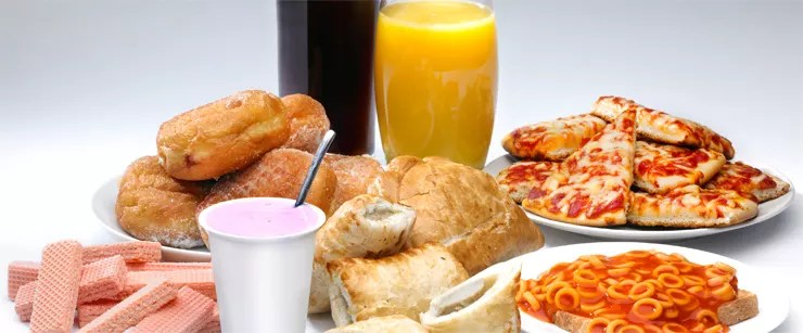 diet for cutting out processed foods
