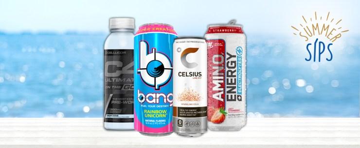 Most Popular Energy Drinks