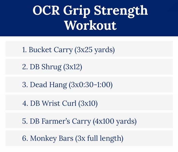 OCR Grip Strength Workout