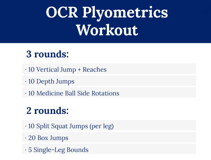 OCR Plyometrics Workout