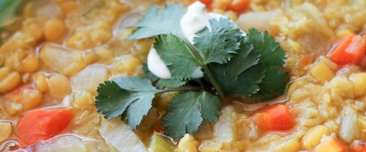 soups for winter: lentil