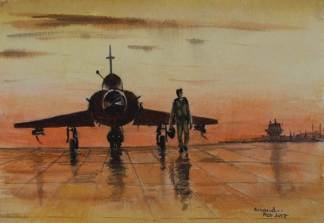 mirage2000 - Art by M.R Anand