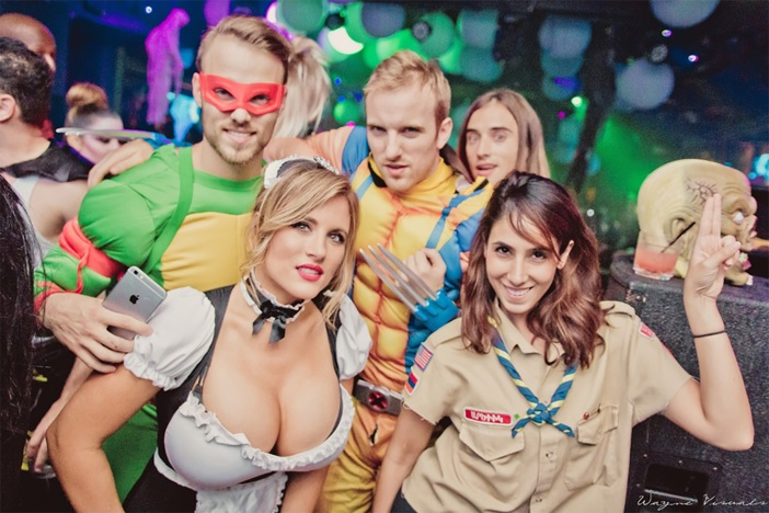 Lure Halloween 2016 Saturday Night