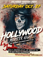 Halloween Le Jardin   Hollywood Monster Night