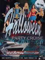 Halloween Yacht Party   San Diego 2018