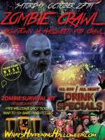 LA Zombie Crawl   Los Angeles Halloween Saturday Tickets