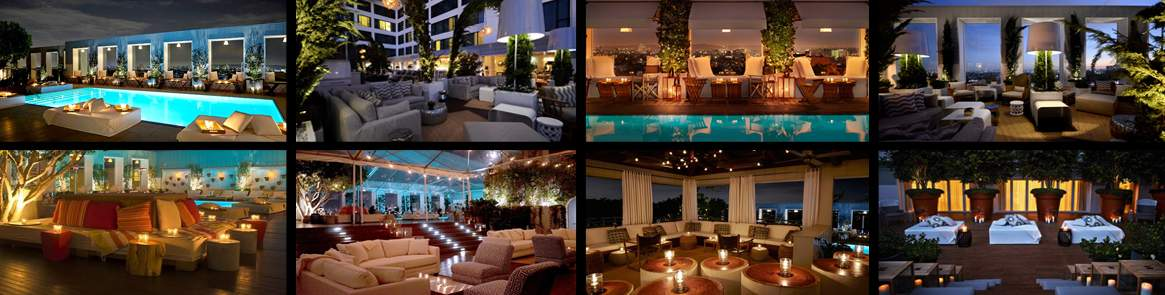 Skybar | Mondrian LA Hotel Halloween