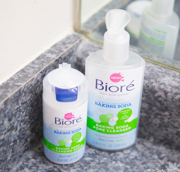 Ready With Bior Baking Soda Cleansing