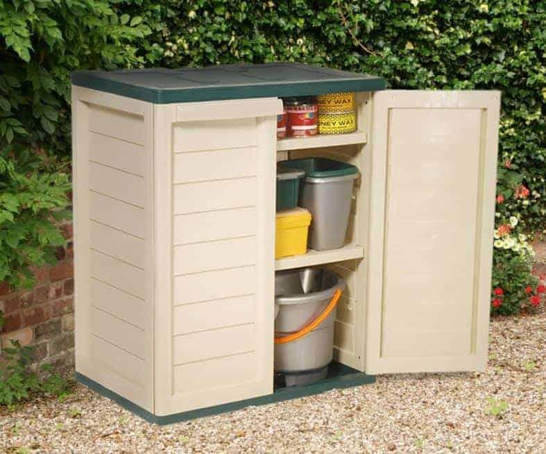 3' x 2' 2 Shelf Plastic Utility Storage Cabinet by Store