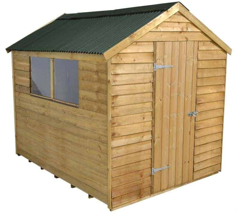 8 x 6 ShedPlus PT Overlap Shed with Onduline Roof