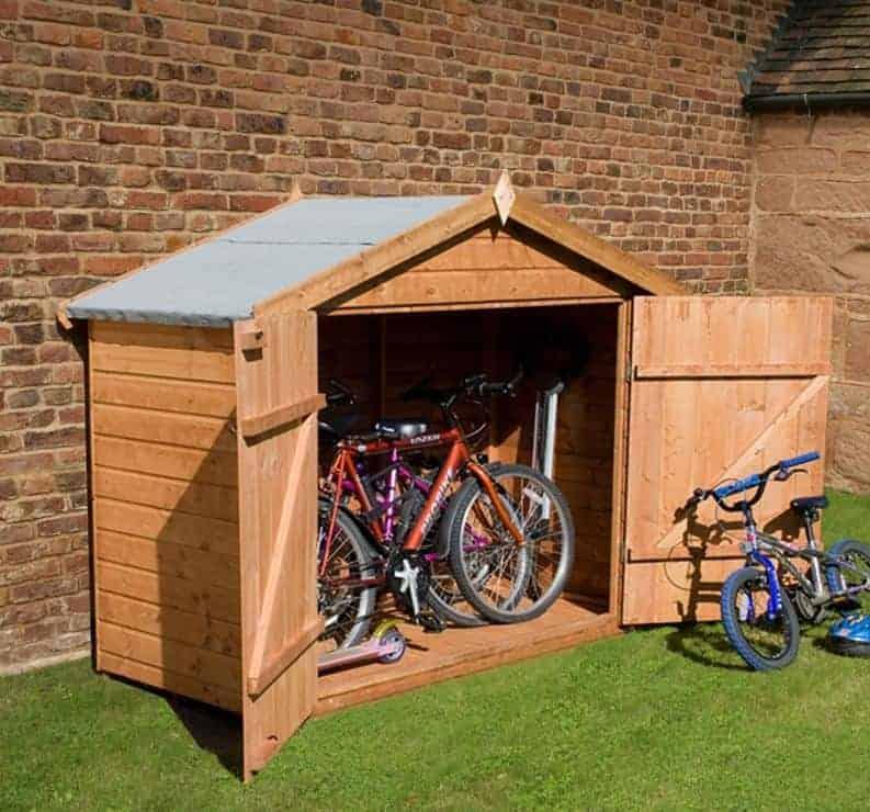 Bike Shed  Bike Storage, Bike Storage Shed & More
