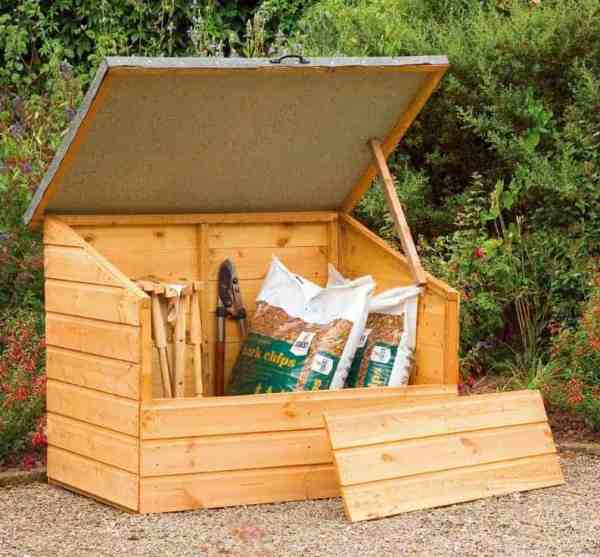 garden storage boxes - top 20