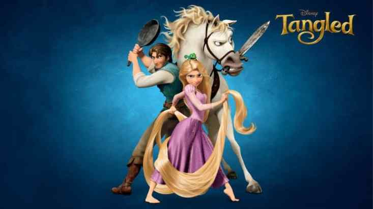 FILM REVIEW: TANGLED