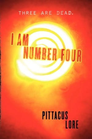 BOOK REVIEW: I AM NUMBER FOUR BY PITTACUS LORE