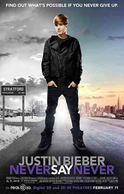 Film Review: Justin Bieber Never Say Never