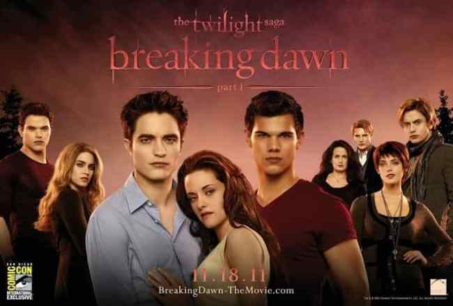 BREAKING DAWN PART 1 SHOULD HAVE BEEN BRANDED A COMEDY