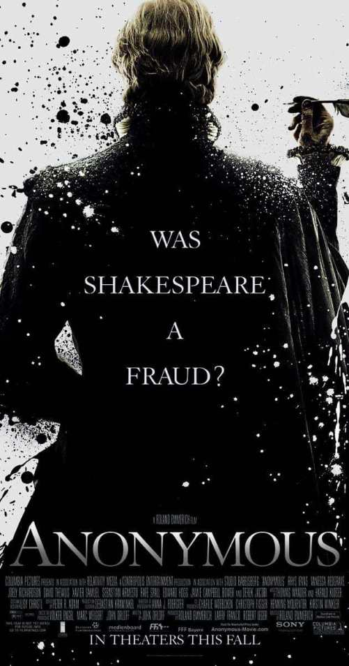 Anonymous Film Review: Was a Shakespeare a Fraud?