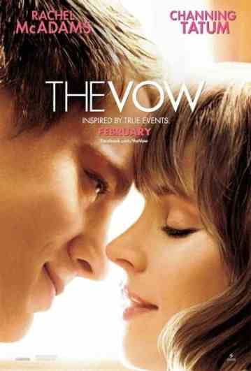 Film Review: The Vow Starring Rachel Mcadams And Channing Tatum