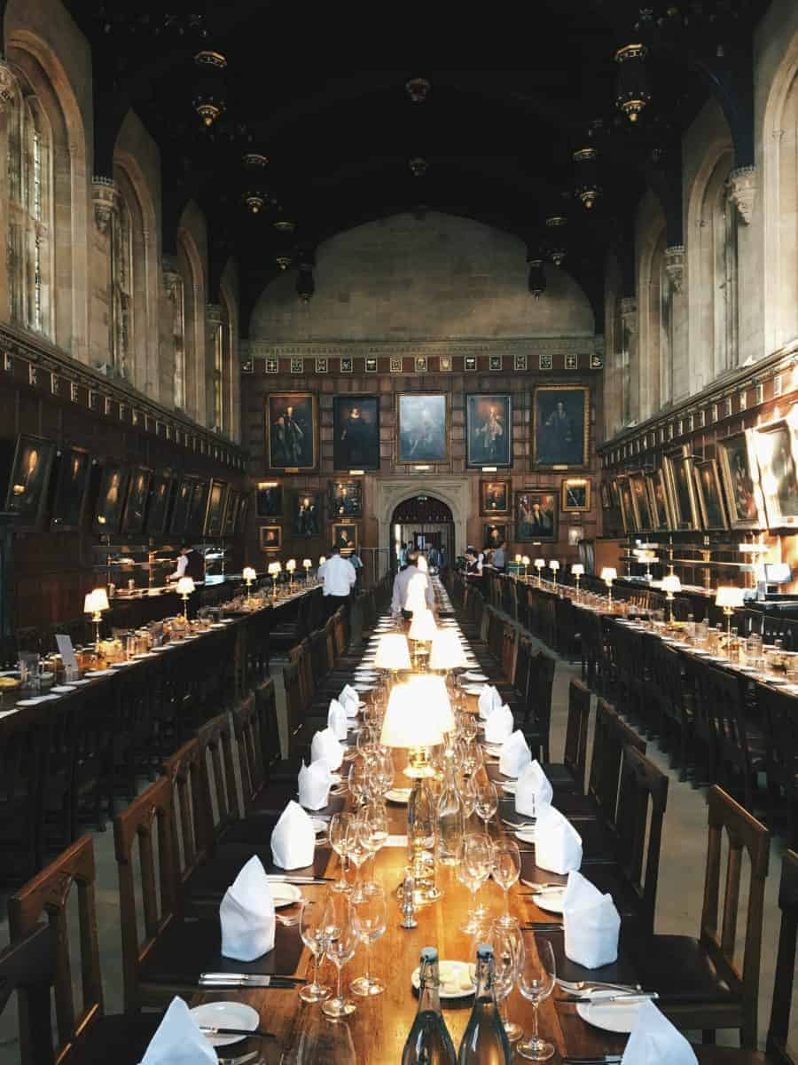 The Harry Potter Tour Of Oxford University - Christ Church, Hogwarts Great Hall