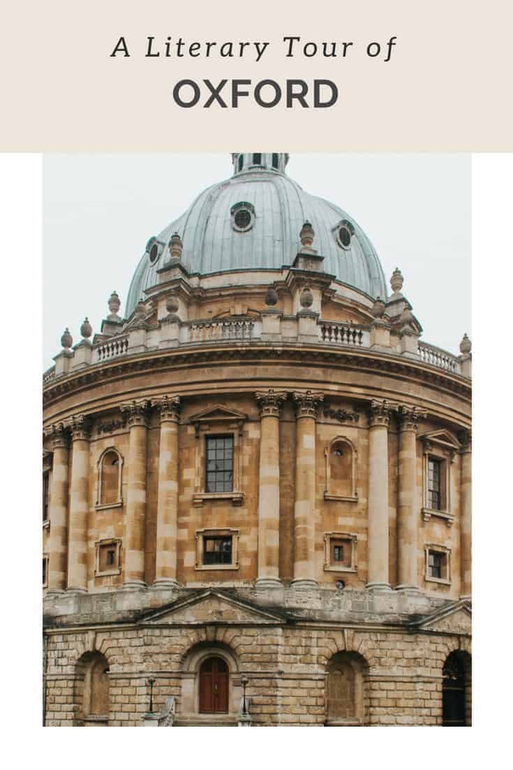 A Literary Tour of Oxford: Tolkien, Lewis Caroll & More