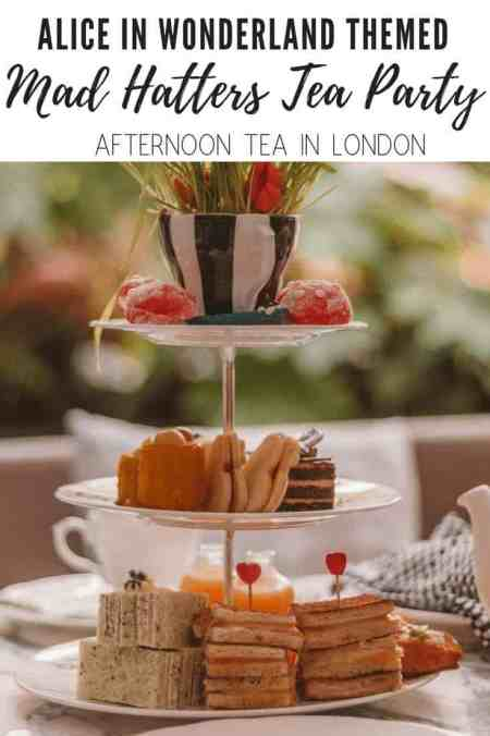 Mad Hatters Tea Party at Sanderson London Review