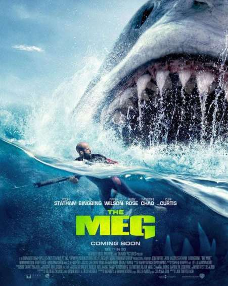 The Meg Film Review: Giant Shark Film starring Jason Statham