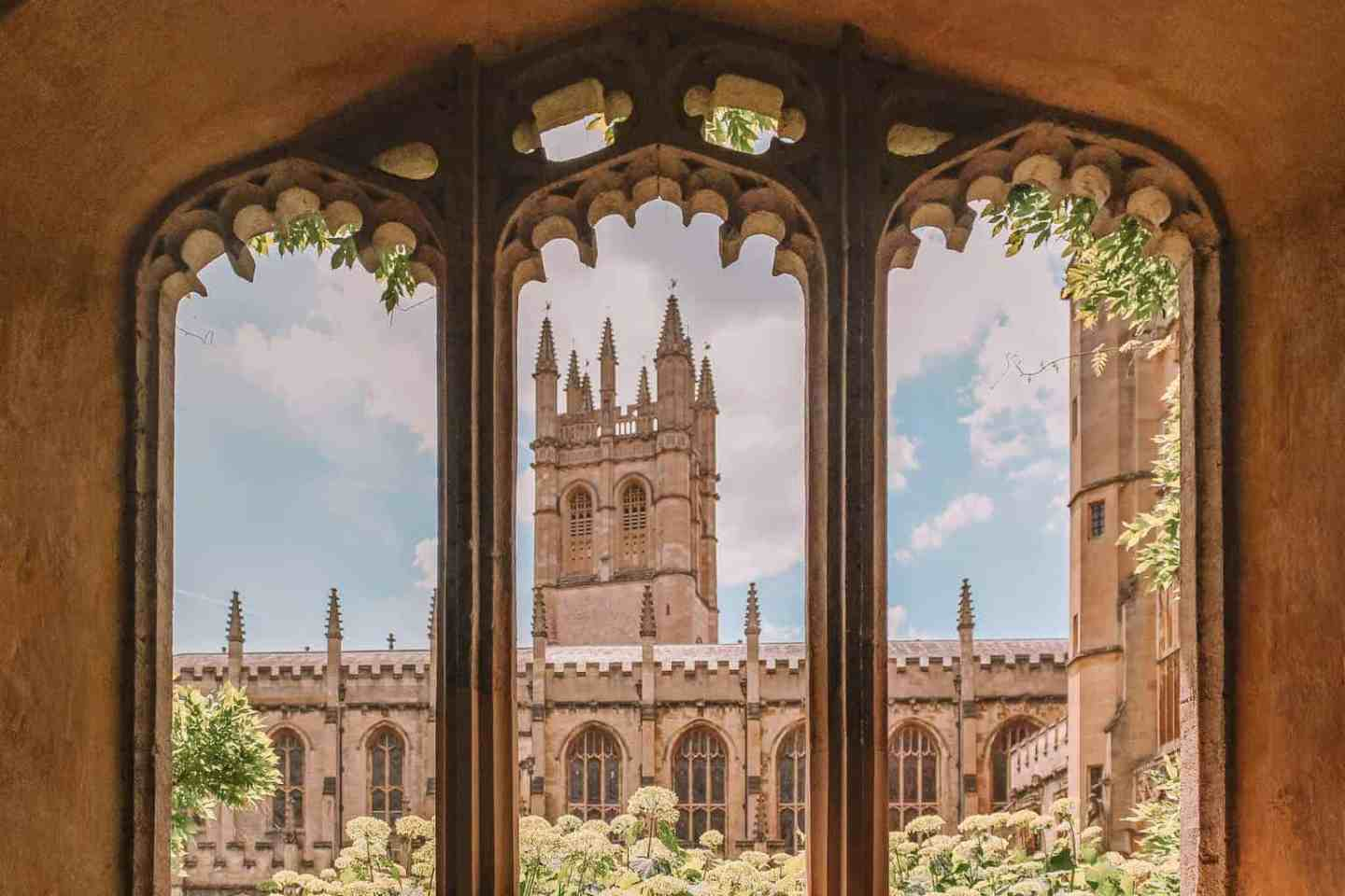 Magdalen Tower - 10 Most Beautiful Colleges at Oxford University According to a Student