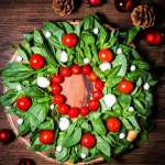 Christmas Wreath Caprese Salad What Should I Make For