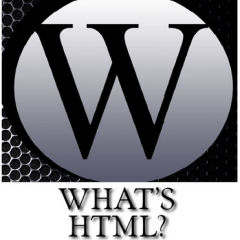 Whats HTML?